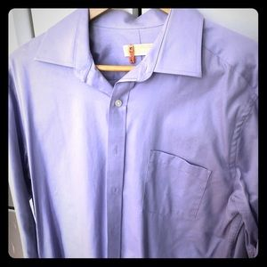 Purple Michael Kors Button Down Shirt